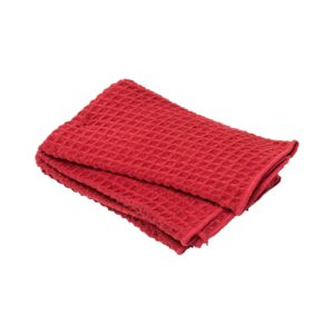 KITCHEN TOWEL 2PC 40X48CM WAFFLE RED