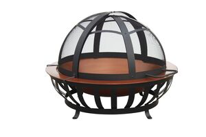 FIRE PIT BOWL TYPE COPPER FINISH 40