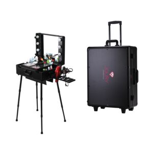 MAKEUP CASE W/ LIGHTS & STAND JOURY