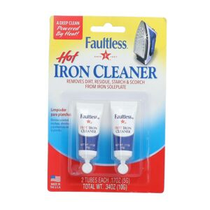 IRON CLEANER HOT 17oz 2PC FAULTLESS