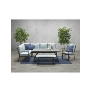 DINING SET 5PCS 2SOFA+CHAIR+BENCH SERGIO