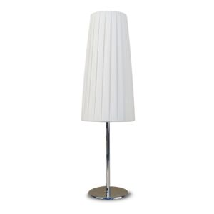 TABLE LAMP E27 1X40W STRIP FABRC W/SHADE