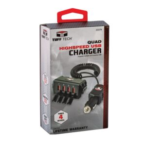 USB CHARGER HUB 12-24V HEAVY DUTY