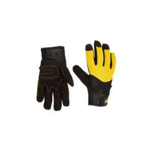 GLOVE UTILITY SYN.LEATHER PALM LRGE CAT