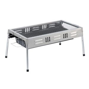 CHARCOAL GRILL PORTABLE STAINLESS STL