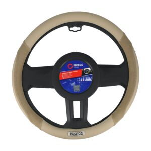 STEERING WHEEL COVER MEDIUM BEIGE SPARCO