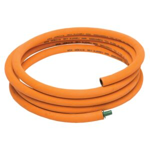 HOSE LPG 1.5M RUBBER LEAK PROOF ORANGE