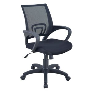 OFFICE CHAIR MESH SEAT&BACK BLACK