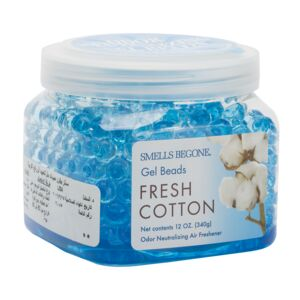 AIRFRESHENER-GEL BEADS 12OZ. FRESH COTTO