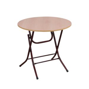 TABLE ROUND 70CM DIA. X 74CM H FOLDABLE