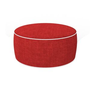 OTTOMAN INFLATABLE PVC RED
