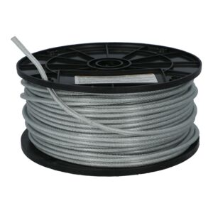 "CABLE 3/32"" 76M COATED CAMPBELL /METER"