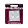 """BUMPERS 7/8"""" 4/PK SELFSTICK ROUND CLEAR"""