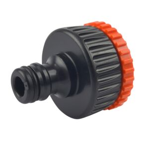 "HOSE CONNECTOR 1""- 3/4"" THREADED TAP"