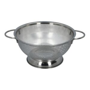 COLANDER PERFORATED SS W/DBLE HANDLE