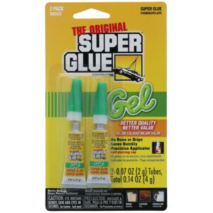 SUPER GLUE GEL 2GRM TWIN PACK SUPER GLUE