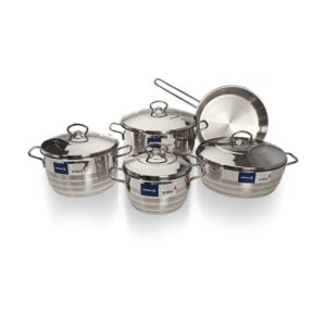 COOKWARE SET 9PC ASTRA KORKMAZ
