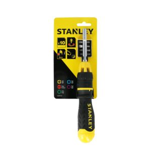 SCREWDRIVER RATCHET MULTI BIT STANLEY