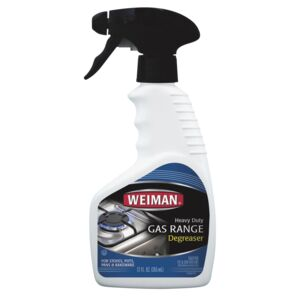 CLEANER 12oz. SPRAY GAS RANGE WEIMAN