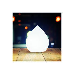 DECORATIVE DROP-SHAPED LED BALL 20CM
