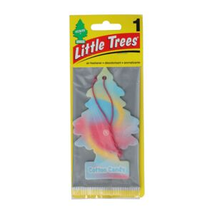 CAR FRESHENER LITLE TREE COTTON CANDY