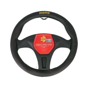 STEERING WHEEL COVERS 011 BLACK/RED MOMO