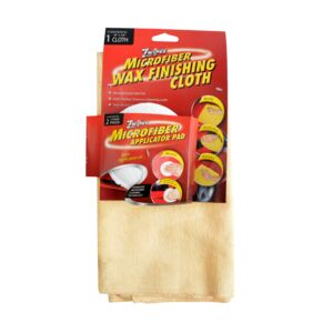 WAX POLISHING KIT 2PC MICROFIBER ZWIPES