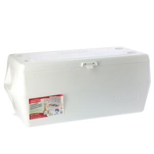 ICE CHEST 150QT MARINE WHITE RUBBERMAID