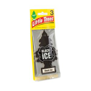 AIRFRESH TREE 3PCS TRDN'L BLACK ICE