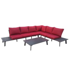 SEATING SET 3PCS COFFEE TABLE 2CHAIR