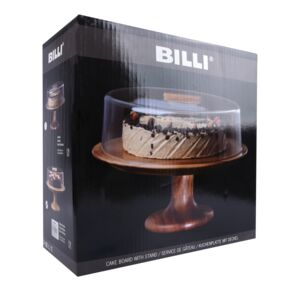 CAKE DOME W/STAND ACRYLIC COVER BILLI