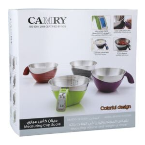 KITCHEN SCALE 5KG MEASURING CUP CAMRY