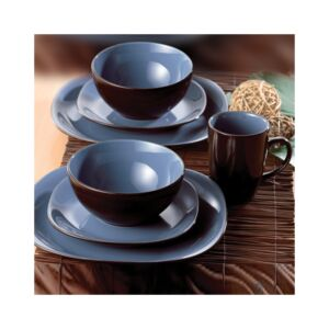 DINNER SET 16PCS BALI BLUE