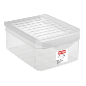 STORAGE BOX 4.5 LITERS TRANSPARENT