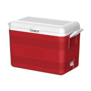 ICE CHEST DELUXE 46LTR. KEEP COLD RED