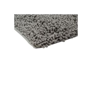 BATH MAT 76X51CM SPA LOOP MCRFBR GREY