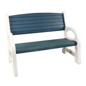 BENCH 122X67X92CM PLASTIC FOR GARDEN