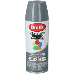 SPRAY PAINT 12oz SMOKE GRAY GLOSS KRYLON