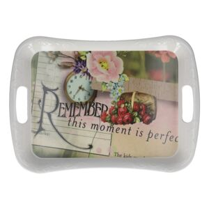 TRAY MELAMINE BIG PERFECT MOMENT K255