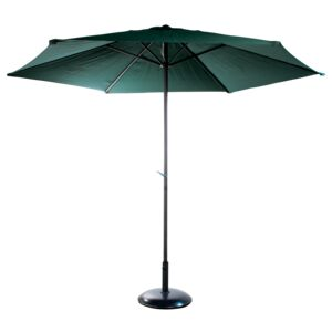UMBRELLA 3M/6RIBS STEEL FABRIC GREEN