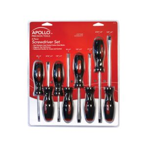 SCREWDRIVER SET 8PCS MT