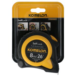 MEASURING TAPE 8M SELF LOCK KOMELON