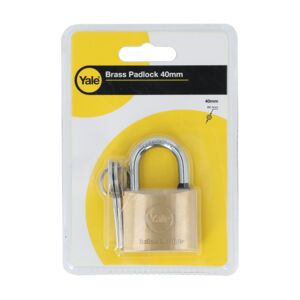 BRASS PADLOCK 40MM SIZE BRASS FINISH