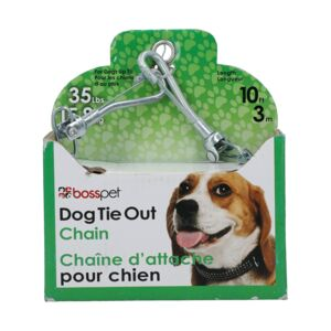 DOG TIE OUT CHAIN 10 MEDIUM