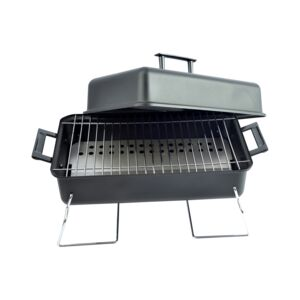 GRILL CHARCOAL TABLETOP FOLDABLE BLACK