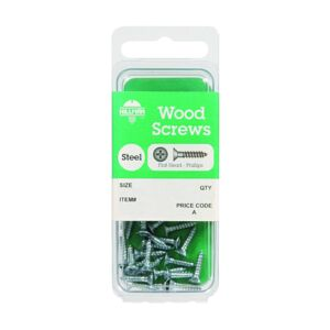 WOOD SCREW PHIL FLT HD 10X1 CD15