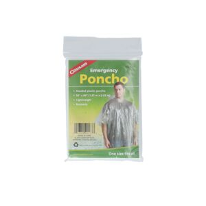 PONCHO TRANSPARENT EMERGENCY COGHLANS