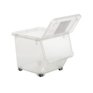 STORAGE BOX 21L MEDIUM PLASTIC