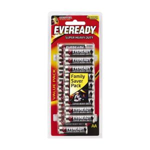 Battery Super Heavy Duty Value Pack size