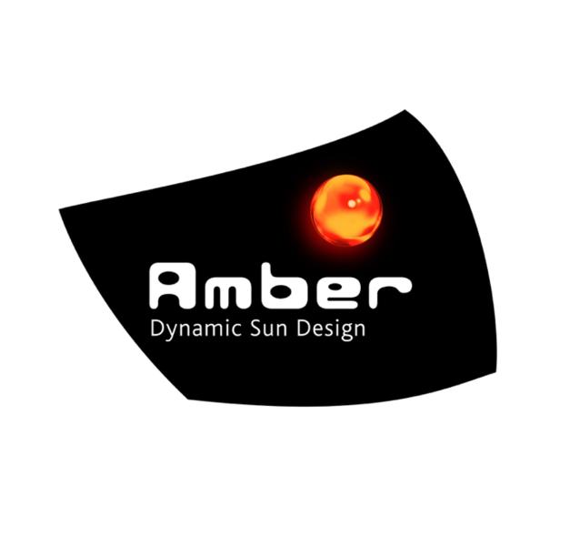 Amber Dynamic Sun Design<